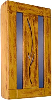 product image for ReFusion Spring 1 Light Wall Sconce Finish: Desert Blaze and Sapphire