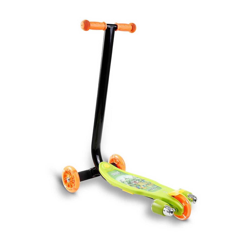 Vert Taille unique Lonlier Scooter enfant à 3 roues Trougeinette LED lumiere des roues et musique apprentissage facile
