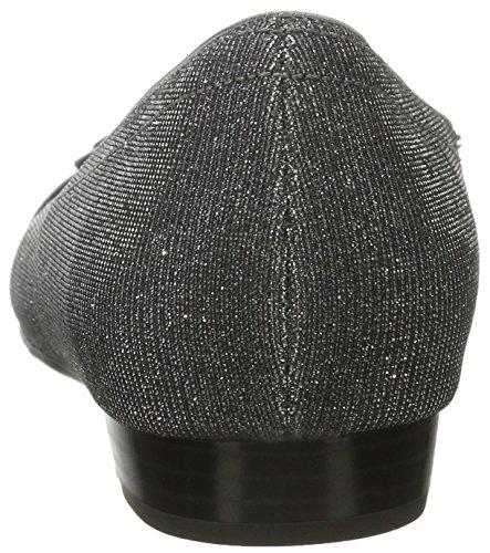 Grau Mujer Bailarinas Grey ara by Cerradas Pisa gun de Jenny Material sintético 8CqZUzWgwn