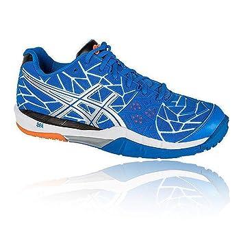 ASICS Gel Fire Blast Zapatillas Volleyball Azul Blanco para Hombre: Amazon.es: Zapatos y complementos