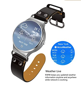 HHJEKLL Pulsera Inteligente Smartwatch Android 8GB Health Heart ...