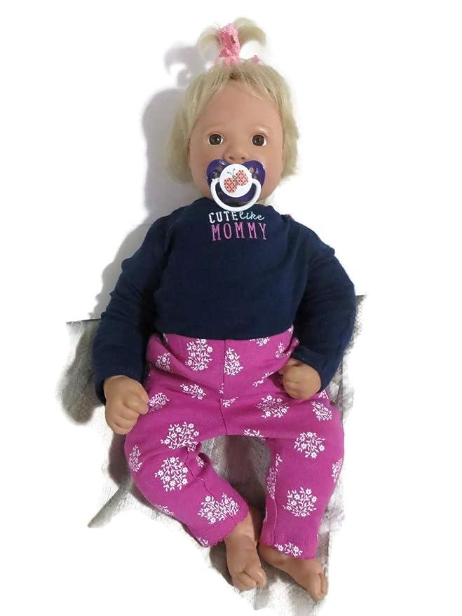 Amazon.com: 2 chupetes de Reborn muñeca – Colores & Estilos ...