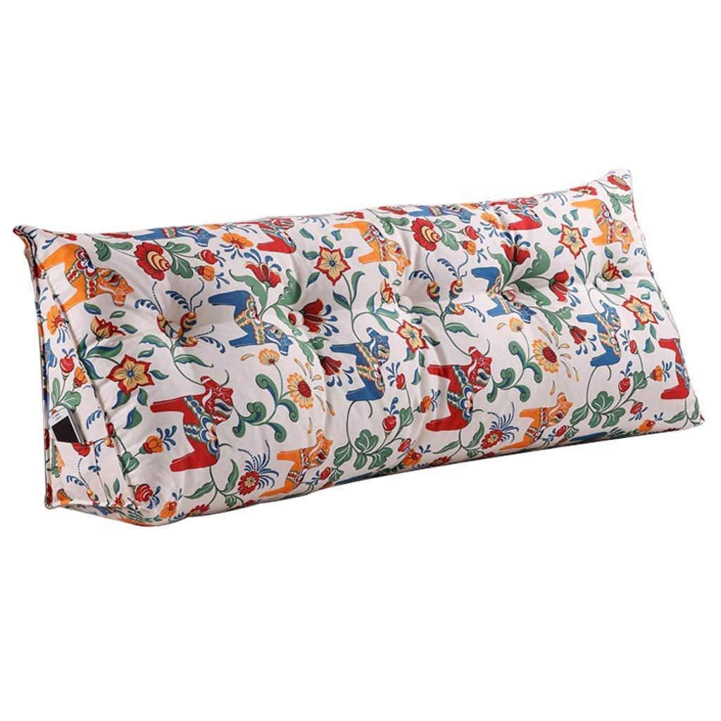 FLy Morbido Cuscino Dorsale Lombare con Testiera Doppia Imbottita Sfoderabile E Lavabile Cuscini da Comodino (Dimensioni   120cm)