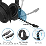 NUBWO N15 Gaming Headset for Xbox One PS4 PC with
