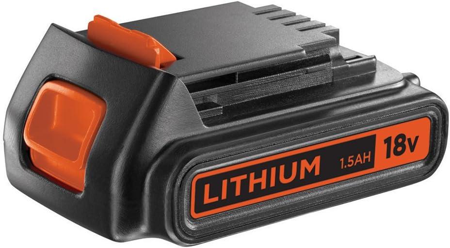 BLACK+DECKER BL1518-XJ - Batería de litio 18 V, 1.5 Ah