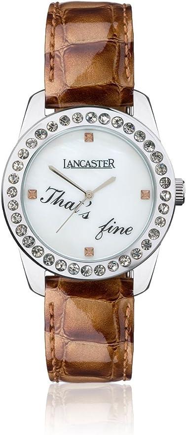 Reloj Lancaster Italy - Mujer OLA0476BN/MR: Amazon.es: Relojes