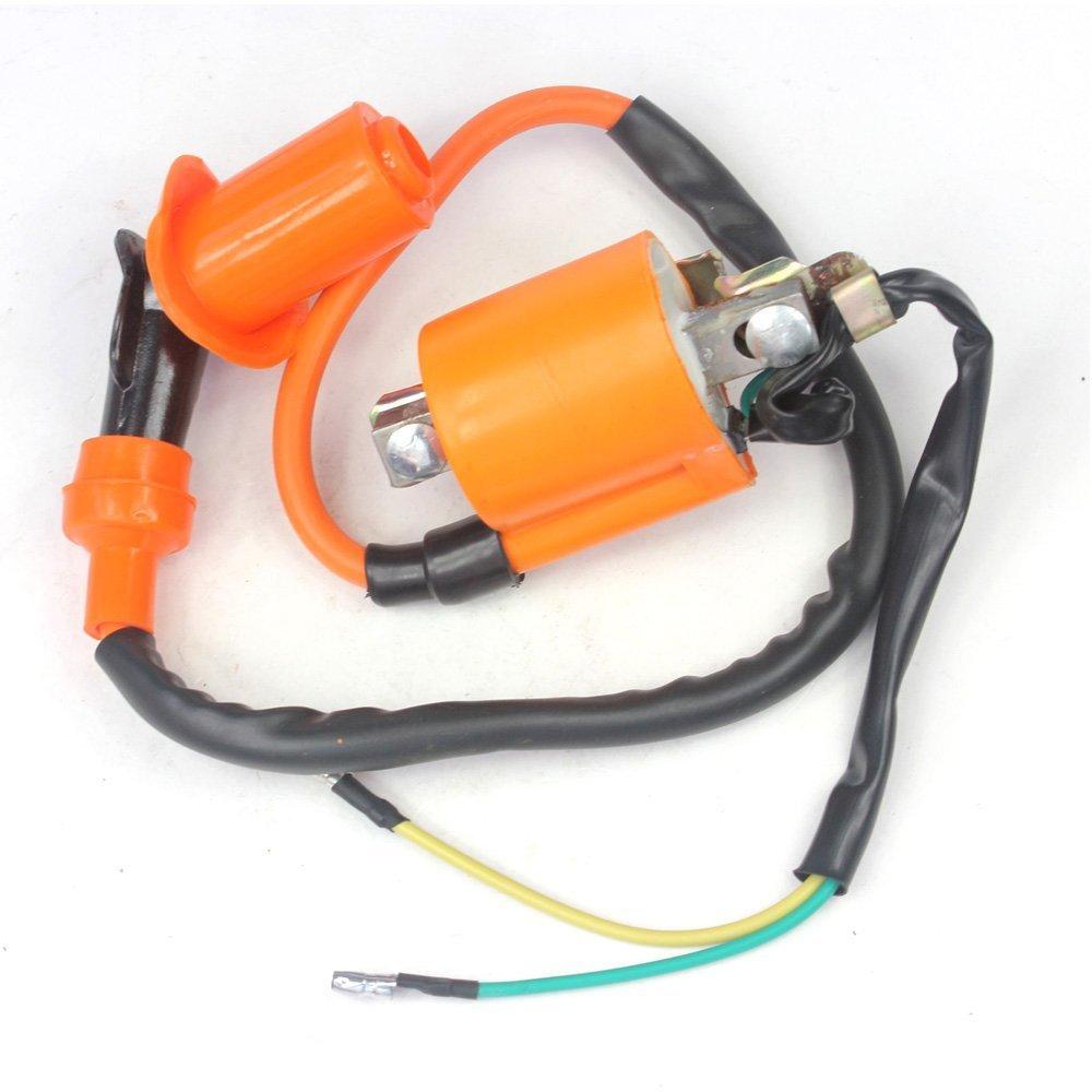 Performance Ignition Coil For Honda Ct70 Ct90 C70 Xl70 1970 Spark Plug Cl70 Trail Bikes Atv 50cc 70 90 110 Cc Lifan Loncin Taotao Automotive