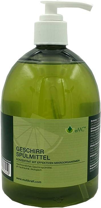 EMC - Detergente para lavavajillas, 0,5 L, concentrado con ...