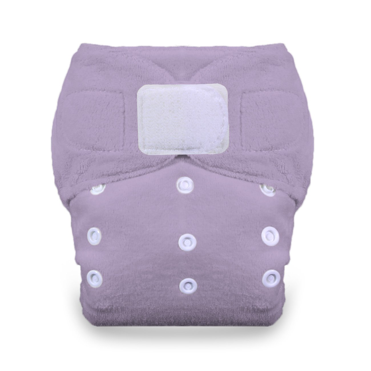 Thirsties Duo Fab Fitted Cloth Diaper with Hook and Loop, Honeydew, Size 2 TDFHLH2