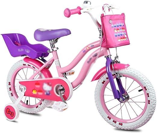 Bicicletas Bicicleta for niños Bicicleta de aleación de magnesio Bicicleta de montaña for Estudiantes de 12 Pulgadas Bicicleta for niños y niñas de 3-8 años (Color ...