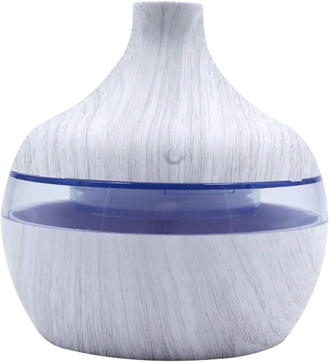 Difusor de Aceites Esenciales Para el Hogar de 300ml, Humidificadores de Onnovaciones de Aire, Máquina de Aromaterapia, Difusor de Aroma, Difusor de Humidificador con 7 Colores LED