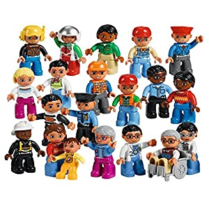 Community People Set for Exploring Roles and Responsibilities by LEGO Education DUPLO - 613iWnJa bL - Community People Set for Exploring Roles and Responsibilities by LEGO Education DUPLO
