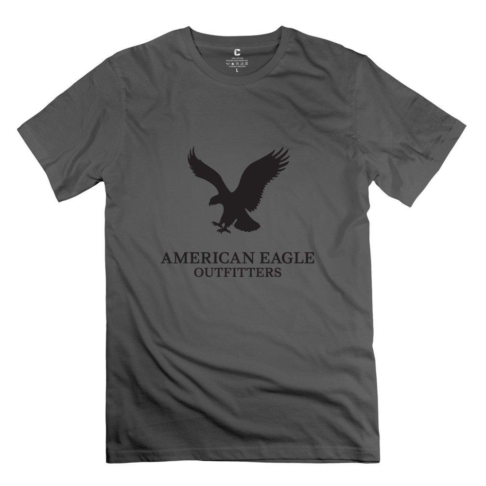 Men's 100% Cotton American Eagles Fitted T-shirt ErinHuck T-shirt