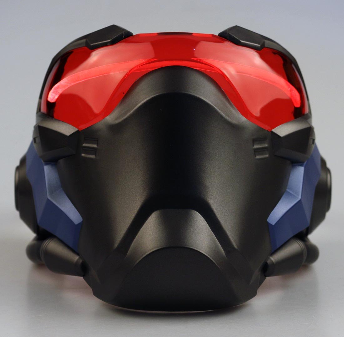 DMAR Overwatch John Morrison Cosplay Light-up Mask 1:1 Props Helmet Halloween Party Soldier 76 Weapon Competitive Game Mask
