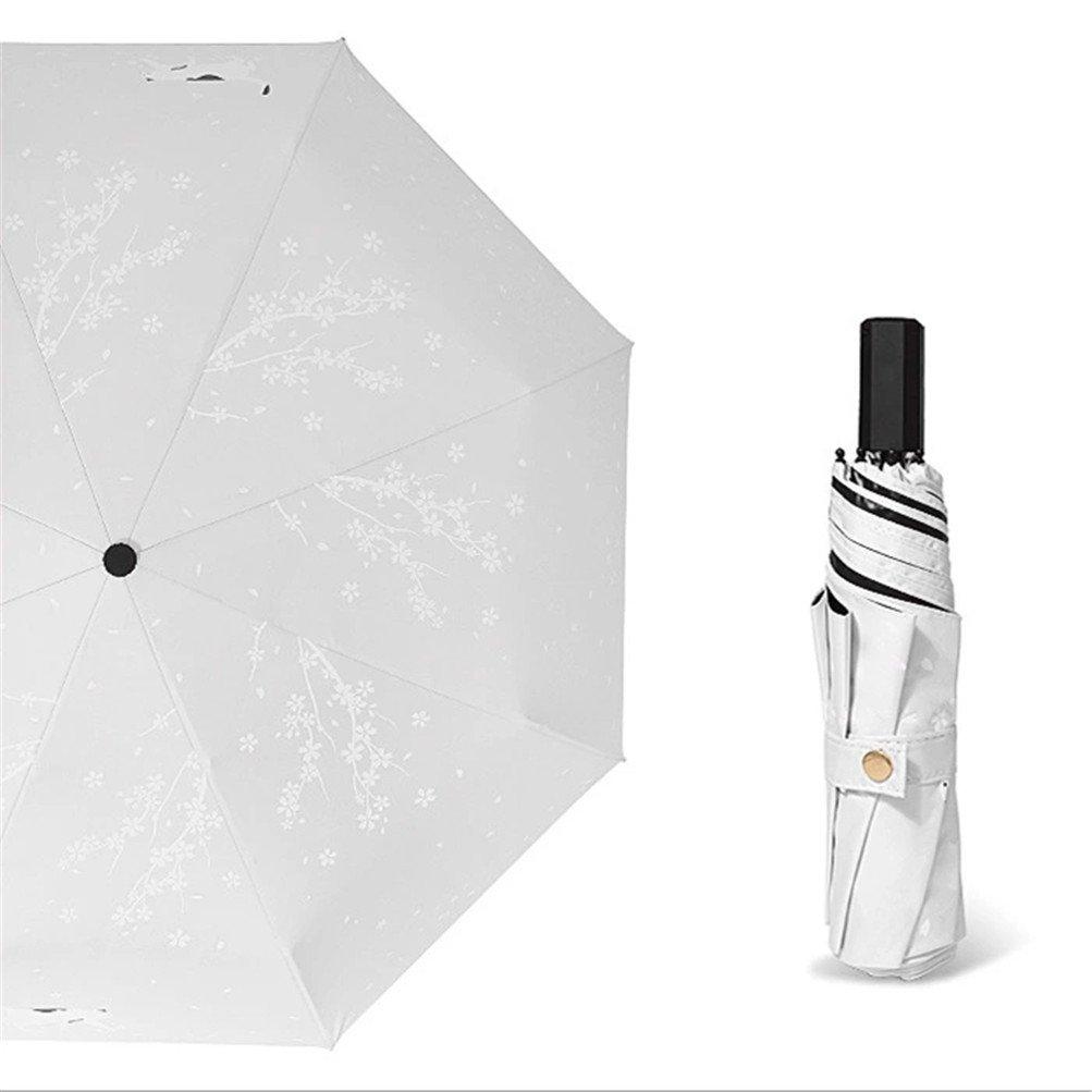 Ultra light Mini Compact Travel Umbrella Windproof Folding Golf Umbrella With 95% UV Protection (E) by Mrsrui