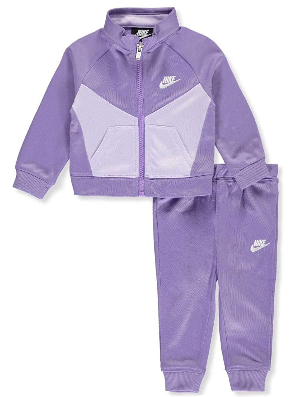 Nike - Chándal para niña (2 Piezas) - Morado - 6-9 Meses: Amazon ...