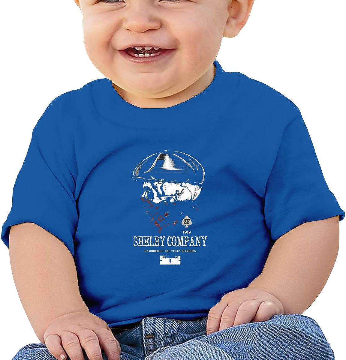 Shelby Company by Order of The Peaky Blinders - Camiseta de Manga Corta para bebé (algodón), diseño de Estampado de bebé - Azul - 12 Meses: Amazon.es: Ropa y accesorios