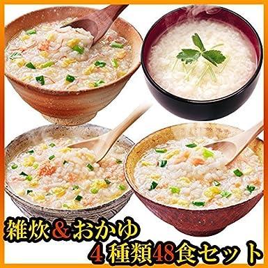 Amano alimentos liofilizados avena y arroz con leche cuatro comidas 48 set (arroz nacional se utiliza) (gachas de avena instant?nea marisco a gran escala ...