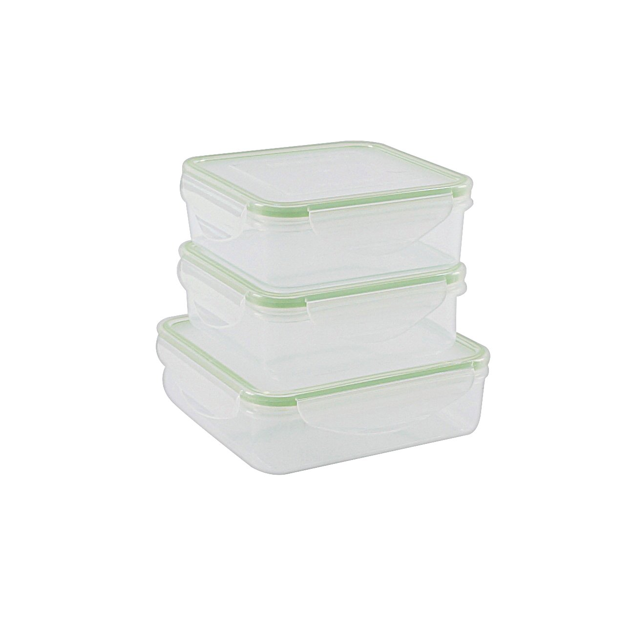 Kinetic GoGreen Fresh Food Storage Container Set with lids, 6-Piece