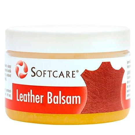 M-SOLUCIONES - Softcare Bálsamo para Cuero. Especialmente para Sofás de Piel, Sillas, Asientos del Coche, Bolsos, Zapatos. También adecuado para ...