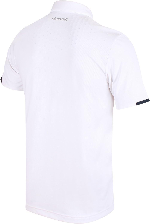 adidas Climachill - Polo de tenis transpirable para hombre, color ...