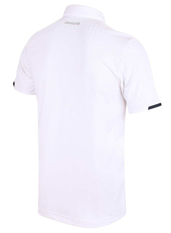 adidas Camiseta Deportiva - Para Hombre Blanco Blanco Medium ...