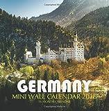 Germany Mini Wall Calendar 2018: 16 Month Calendar