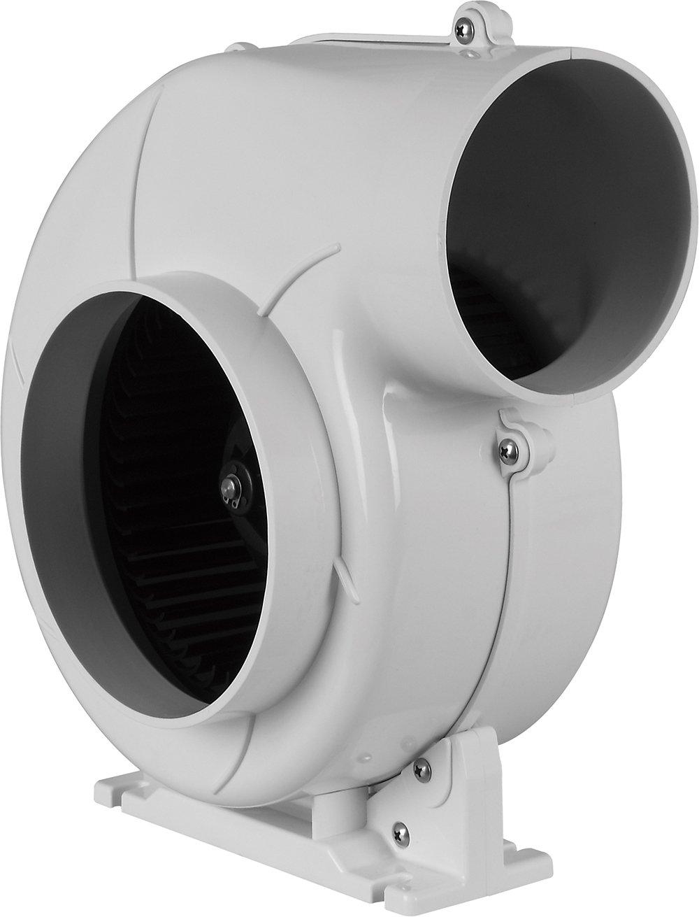 SEAFLO Flex Mount Bilge Air Blower 320CFM Boat Ventilation Marine 12V 4''