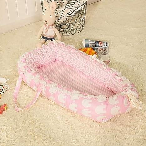 Lhh Baby Nest - Cojín para cunas y cunas, 100% algodón ...