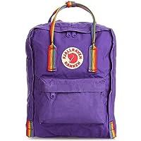Fjallraven Kanken Classic School Rainbow Backpack Outdoor Mountaineering Bag Purple