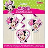 """26"""" Hanging Minnie Mouse Decorations, 3ct"""