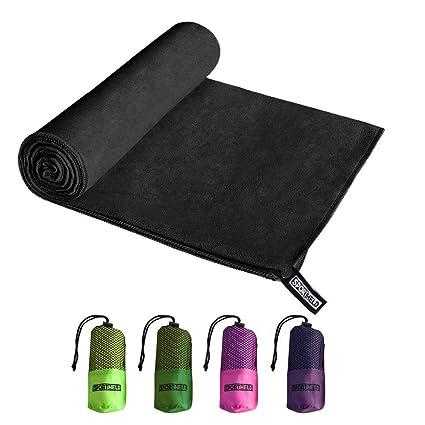 Sport Held® Toalla – Microfibra en 5 colores: verde oscuro, Verde Claro,