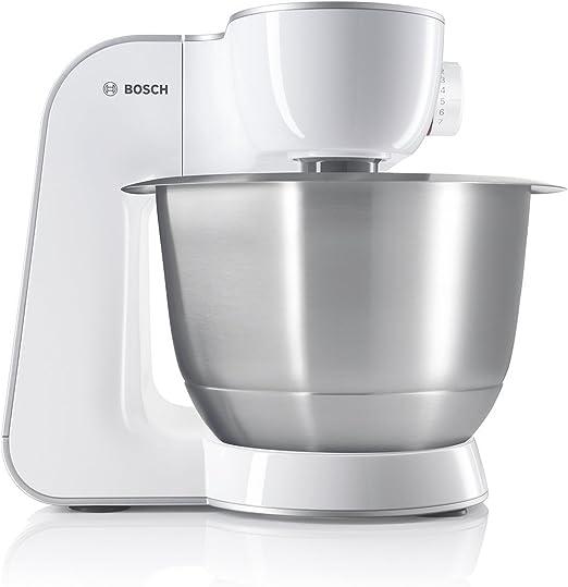Bosch MUM54270DE - Robot de cocina (3,9 L, Plata, Blanco, 1,1 m, Operación, 3 discos, 220-240 V): Amazon.es: Hogar