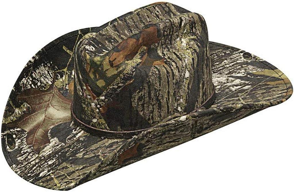 HorseSaddleShop Camoflage Mossy Oak Cowboy Hat