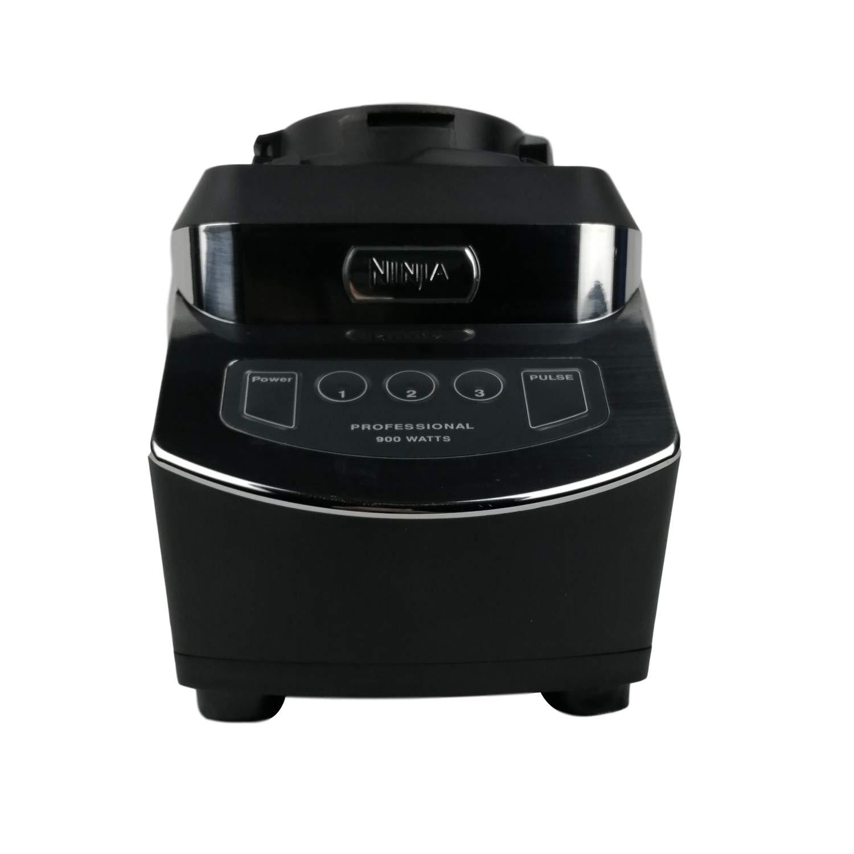 Original Nutri Ninja Kitchen System Base Blender NJ602 1100 Watt 6 Fin Gear For 18oz 24oz 32oz BPA Free Tritan Cups 40oz Bowl And 72oz Pitcher Home Kitchen Appliance (Certified Refurbished)
