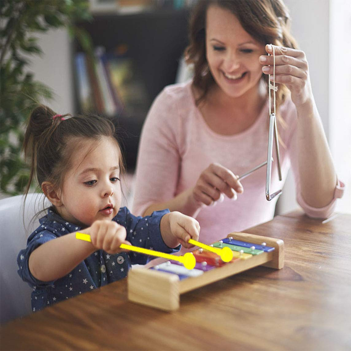XIYITOY Xylophone for kids,The First Birthday Gift for kids 1-3 Year Old Girl,Boys,Musical Kid Toy for Kids for 4-8 Year Old Boys Gift,Whith Two Child-Safe Mallets for 2-6 Year Old for Making Fun Musi by XIYITOY (Image #2)
