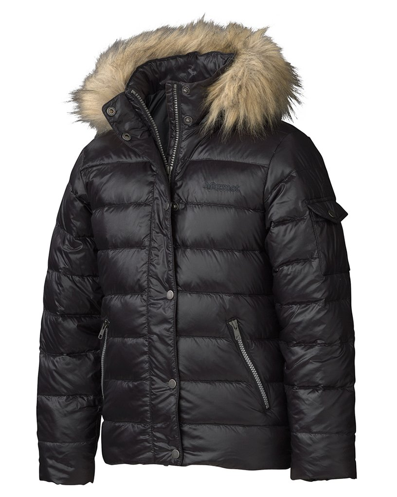 Marmot Kids Girl's Girl's Hailey Jacket (Little Kids/Big Kids) Black Outerwear SM (6/7 Little Kids)