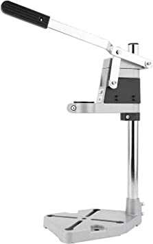 8MILELAKE Universal Bench Clamp Drill Press Stand Tool for 43mm Drilling Collet