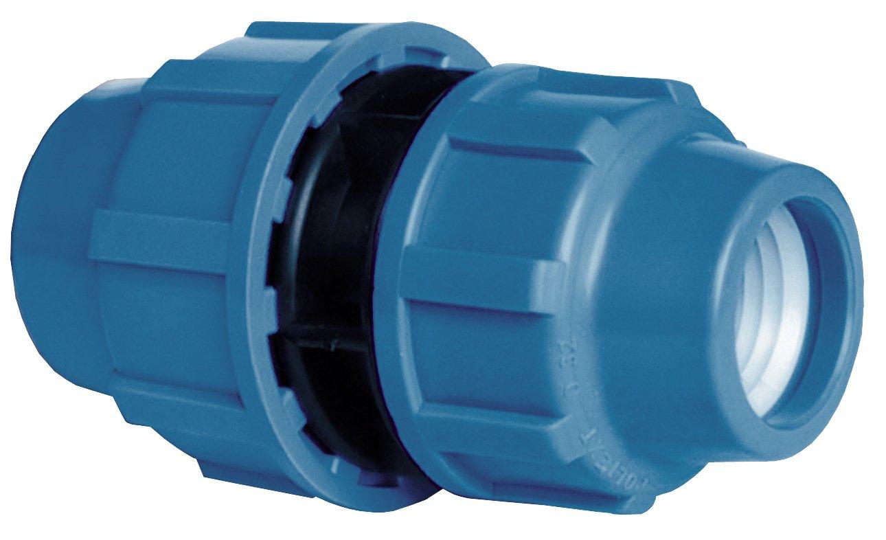 Cornat Bewässerungssystem PE-Reduzier-Kupplung, 32 x 25 mm, Innengewinde Polypropylen für Kaltwasser Conmetall T610055