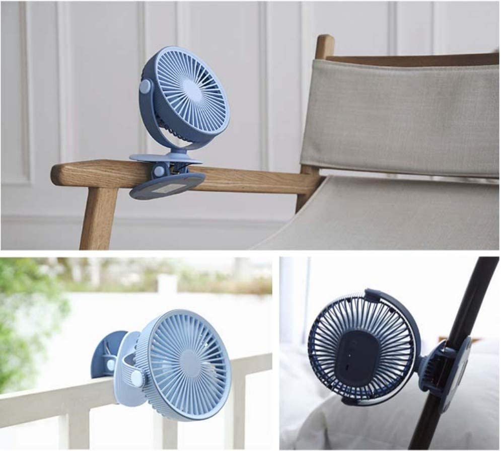 Car Gym Outdoor Qqww Portable USB Mini Fan,Rechargeable Battery Operated with Long Battery Life Office Camping Travel Best for Baby Stroller Adjustable Speeds Mini Portable Desktop Quiet