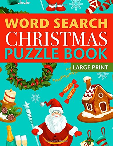 Christmas Search Puzzle Large Print product image