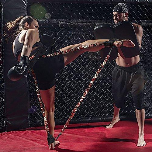 INNSTAR MMA Boxing Resistance Band Set Enhance Explosive Power Strength Training Equipment for Muay Thai,Karate Fight,Health,Basketball,Volleyball,Football Men&Women Provide of Customized Service – DiZiSports Store