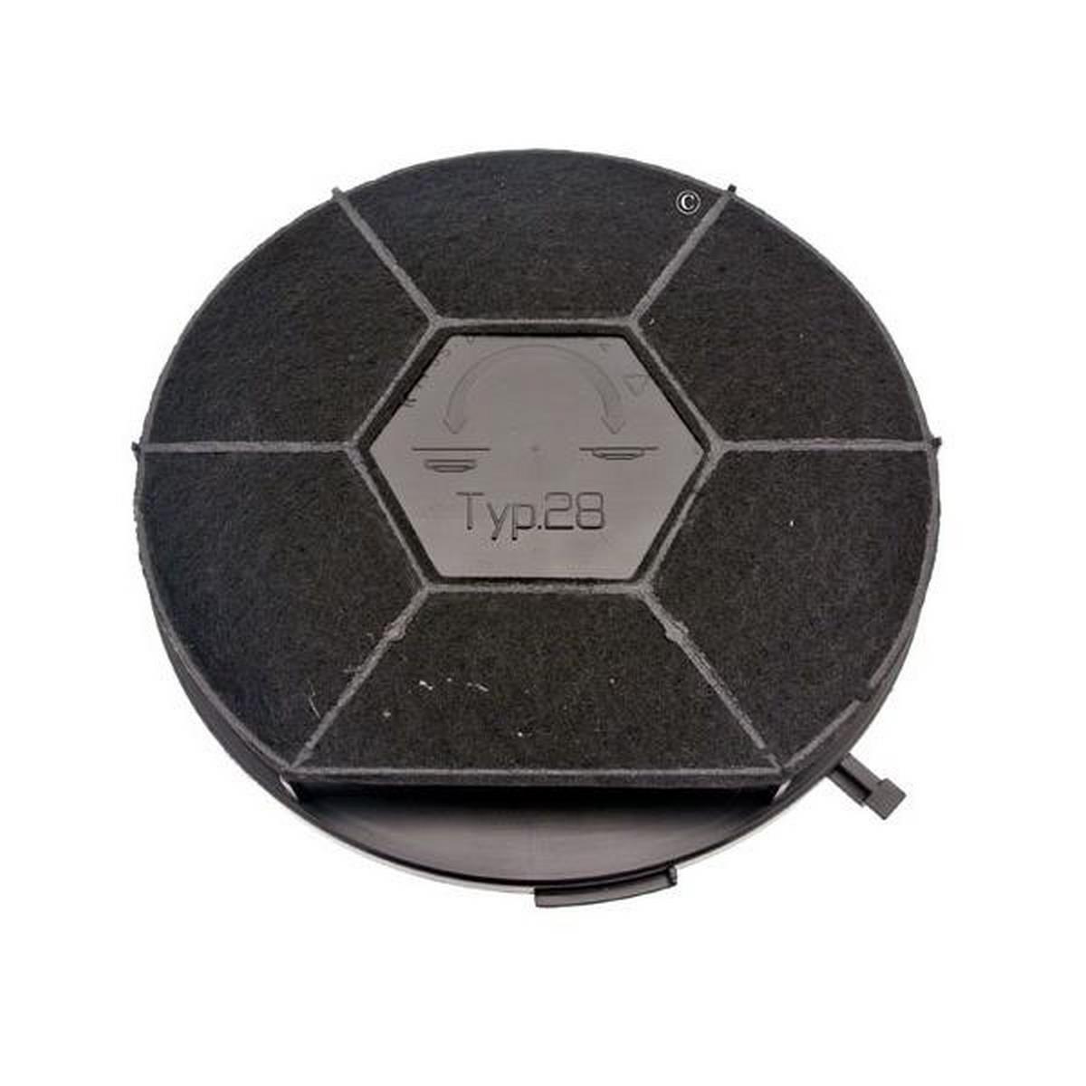 Filtro carbón redondo tipo 28 chf28/1 (a la Unite) - Campana ...