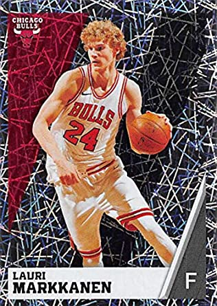 2018-19 Panini NBA Stickers  63 Lauri Markkanen Foil Chicago Bulls NBA  Basketball Sticker c46f429c1
