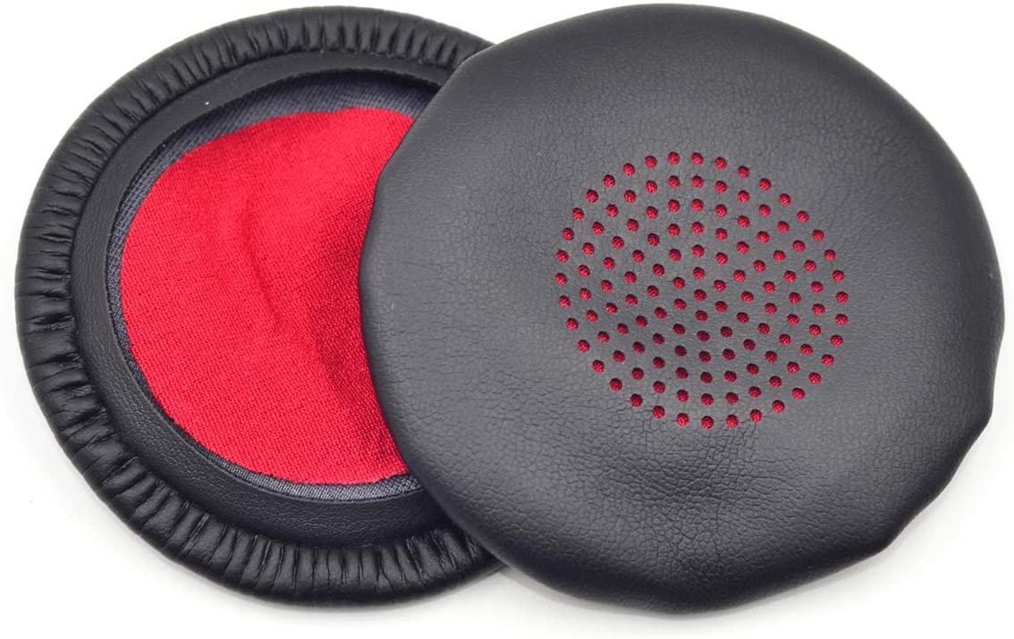 defean Replacement Cushion Ear Pads Covers for Plantronics Voyager Focus UC B825 Binaural Headset