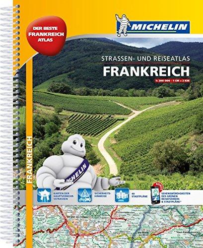 Michelin Straßenatlas Frankreich mit Spiralbindung: DIN A4
