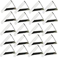 Clips de Acero Inoxidable Mantel,Pinzas para Mantel,20pcs