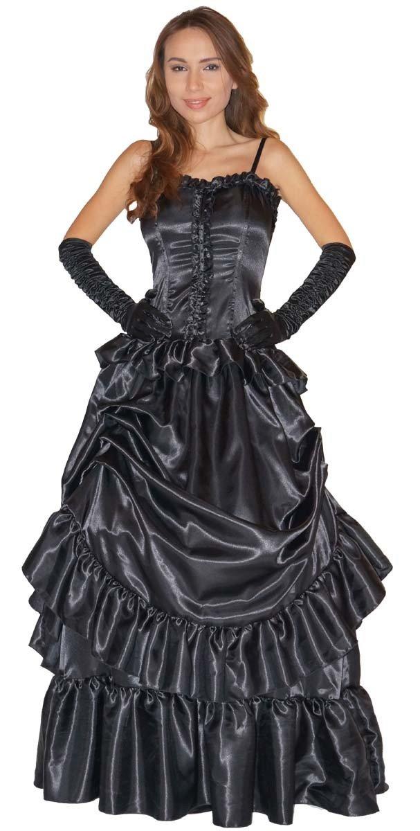 Maylynn - Elegante traje de vampiro barroco con guantes - negro talla S: Amazon.es: Juguetes y juegos