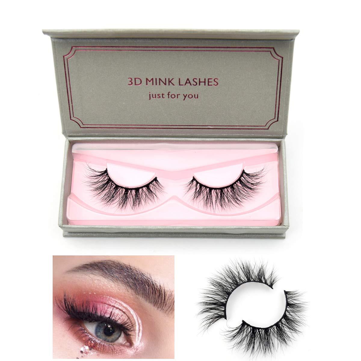 2300cda27a6 Visofree Eyelashes Mink Eyelashes Cruelty-free Full Volume 3D Mink Strip  Eyelashes Dramatic False Eyelashes