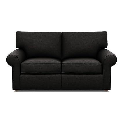 Surprising Amazon Com Ethan Allen Retreat Roll Arm Sofa 68 Loveseat Andrewgaddart Wooden Chair Designs For Living Room Andrewgaddartcom